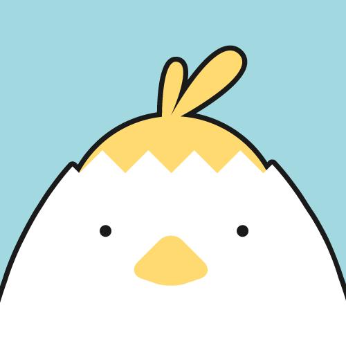 Kiminiオンライン英会話のマスコット「ピーちゃん」