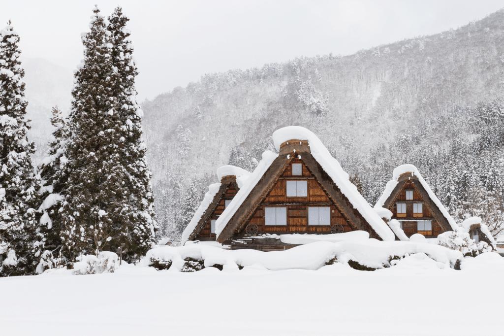 日本の冬を紹介するフレーズ